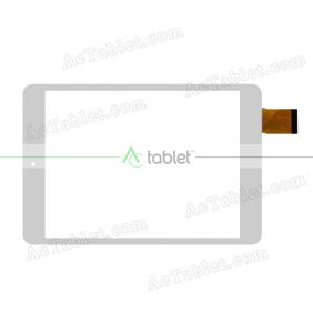 GT79PG163 Digitizer Glass Touch Screen Replacement for 7.9 Inch MID Tablet PC