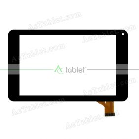MF-884-070F Digitizer Glass Touch Screen Replacement for 7 Inch MID Tablet PC