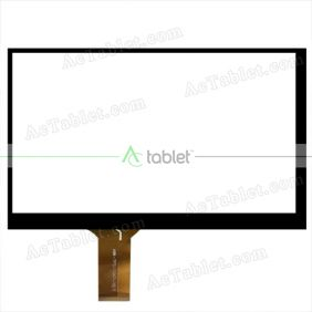 HW-TPS-1047-10.1 Digitizer Glass Touch Screen Replacement for 10.1 Inch MID Tablet PC