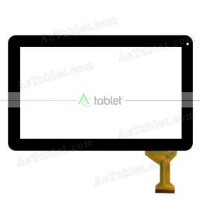 Replacement Touch Screen for Laser MID-1028 eTouch 10 Inch 10.1 Dual Core Tablet PC