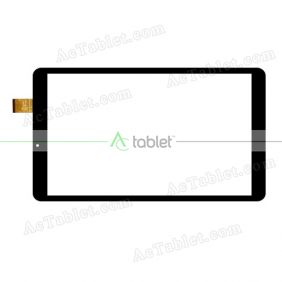 Digitizer Touch Screen Replacement for Yuntab K03-10 3G Quad Core 10.1 Inch Tablet PC