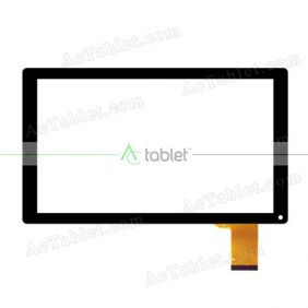 "Touch Screen Replacement for Simbans (TM) Ultimax 10 Inch Quad Core 10.1"" Tablet PC"