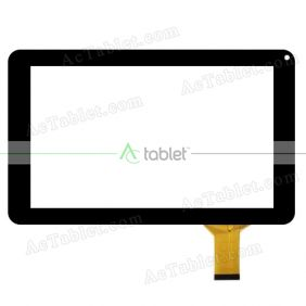 Replacement Digitizer Touch Screen for Polaroid P902B 9 Inch Tablet PC