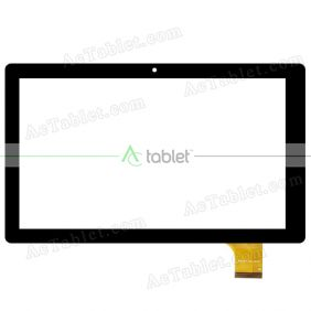 Replacement Touch Screen for Envizen V100MD T V100MDT Quad Core 10.1 Inch Tablet PC