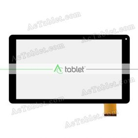 Replacement Touch Screen for Ematic EGQ223BL 10 Inch Quad Core 10.1 Tablet PC