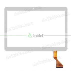 FX-C10.1-202 Digitizer Glass Touch Screen Replacement for 10.1 Inch MID Tablet PC