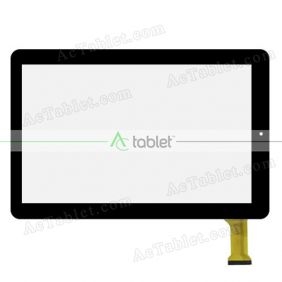 "Digitizer Glass Touch Screen Replacement for RCA Pro12 with WiFi 12.2"" RCT6223W87SK Tablet PC"