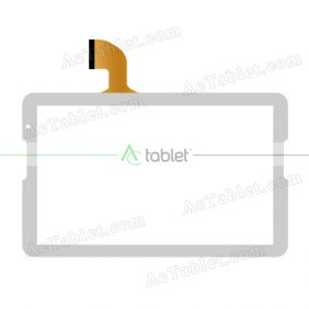 Digitizer Glass Touch Screen Replacement for Polaroid MIDS145PXE52.11 10.6 Inch Tablet PC