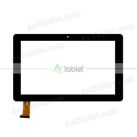 GT10PW165 SLR Digitizer Glass Touch Screen Replacement for 10.6 Inch MID Tablet PC