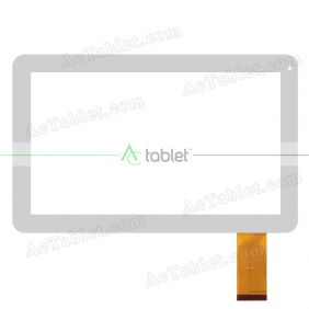 Replacement Digitizer Glass Touch Screen for IRulu X11 10.1 Inch Tablet PC