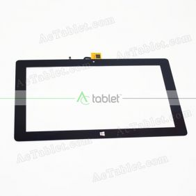 Digitizer Touch Screen Replacement for Teclast Tbook 11 ID:E5A3 Dual Boot 10.6 Inch Tablet PC
