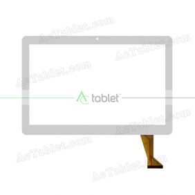 FPC-220-V1 Digitizer Glass Touch Screen Replacement for 10.1 Inch MID Tablet PC