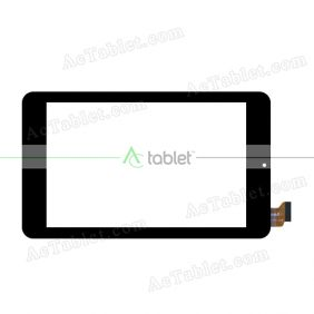 WJ822CFPC-V1.0 Digitizer Glass Touch Screen Replacement for 7 Inch MID Tablet PC