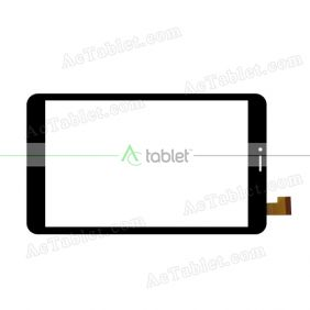 DH-0833A1-PG-FPC281 Digitizer Glass Touch Screen Replacement for 8 Inch MID Tablet PC