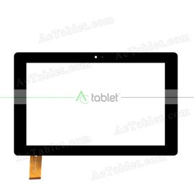 DH-1074A1-PG-FPC235 Digitizer Glass Touch Screen Replacement for 10.1 Inch MID Tablet PC