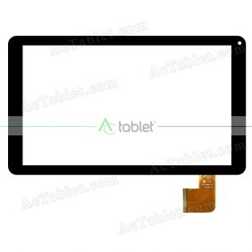 YJ247/248FPC-V1 Digitizer Glass Touch Screen Replacement for 10.1 Inch MID Tablet PC