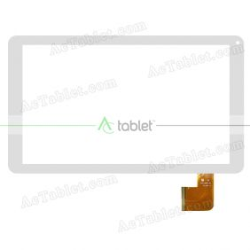 YJ247/248FPC-V0 Digitizer Glass Touch Screen Replacement for 10.1 Inch MID Tablet PC