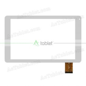 Digitizer Touch Screen Replacement for Aoson M106TG 3G MTK8321 Quad Core 10.1 Inch Tablet PC