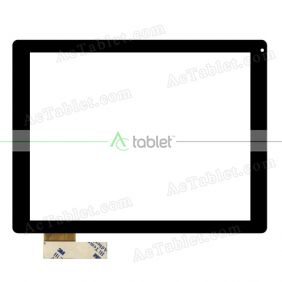Digitizer Glass Touch Screen Replacement for Aoson M19 RK2918 9.7 Inch Tablet PC