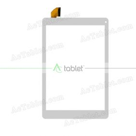 MJK-0707-FPC Digitizer Glass Touch Screen Replacement for 9.7 Inch MID Tablet PC