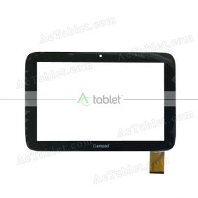FPC-CY101S132-00 Digitizer Glass Touch Screen Replacement for 10.1 Inch MID Tablet PC