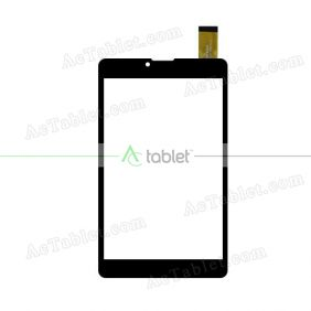 WJ1105-FPC-V1.0 Digitizer Glass Touch Screen Replacement for 7 Inch MID Tablet PC