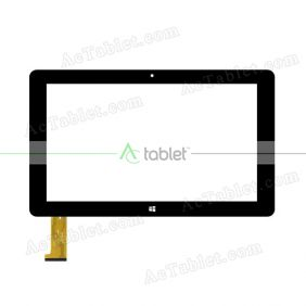 WJ993-FPC V2.0 Digitizer Glass Touch Screen Replacement for 10.1 Inch MID Tablet PC