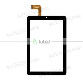 WJ1319-FPC V2.0 Digitizer Glass Touch Screen Replacement for 8 Inch MID Tablet PC