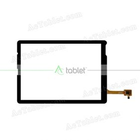 QSD 702-08073-01 Digitizer Glass Touch Screen Replacement for 8 Inch MID Tablet PC