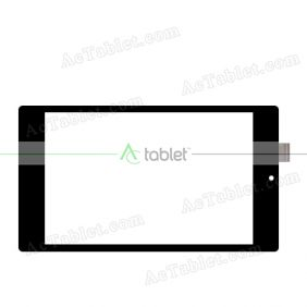 QSD 701-07186-02 Digitizer Glass Touch Screen Replacement for 7 Inch MID Tablet PC