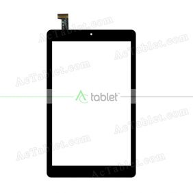 FPC-CTP-0800-052-1(A1) Digitizer Glass Touch Screen Replacement for 8 Inch MID Tablet PC