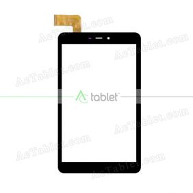 ZYD080-58VD1 Digitizer Glass Touch Screen Replacement for 8 Inch MID Tablet PC