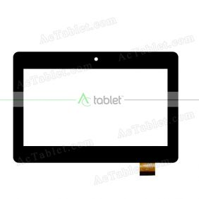 TPC-51089 V1.0 Digitizer Glass Touch Screen Replacement for 7 Inch MID Tablet PC