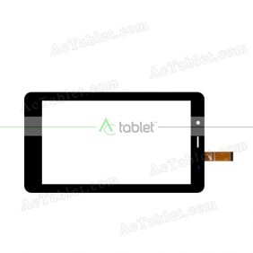 PB70TG2504-R1 Digitizer Glass Touch Screen Replacement for 7 Inch MID Tablet PC