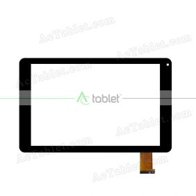 RP-461A-10.1-FPC-A1 Digitizer Glass Touch Screen Replacement for 10.1 Inch MID Tablet PC