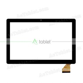 CTP237-101-A V1.0 Digitizer Glass Touch Screen Replacement for 10.1 Inch MID Tablet PC