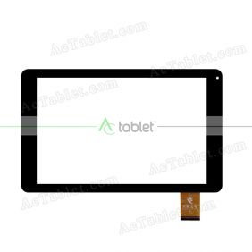 XC-PG1010-078-FPC-A0 Digitizer Glass Touch Screen Replacement for 10.1 Inch MID Tablet PC