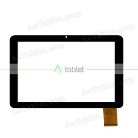 DR2124-B HLT Digitizer Glass Touch Screen Replacement for 10.1 Inch MID Tablet PC