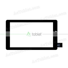 HK70DR 2834 Digitizer Glass Touch Screen Replacement for 7 Inch MID Tablet PC