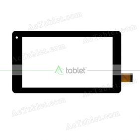 FHF70062 Digitizer Glass Touch Screen Replacement for 7 Inch MID Tablet PC