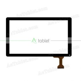 MF-678-101F-3 Digitizer Glass Touch Screen Replacement for 10.1 Inch MID Tablet PC