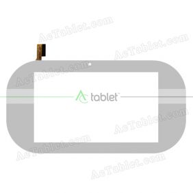 Digitizer Touch Screen Replacement for Ematic Funtab 3 FUNTAB3 Quad Core 7 Inch Tablet PC