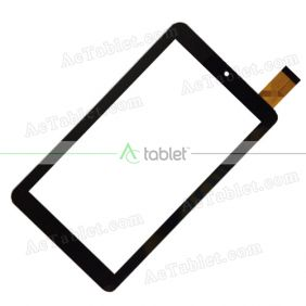 Digitizer Touch Screen Replacement for ProTab PTBT60M7BLU Quad Core 7 Inch Tablet PC