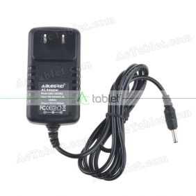 12V Power Supply for Cube MIX Plus Dual Boot Intel Core M3-7Y30 10.6 Inch Windows Tablet PC
