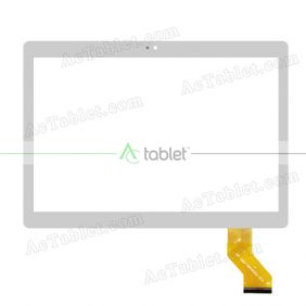 YLD-CEGA442-FPC-A0 Digitizer Glass Touch Screen Replacement for 10.1 Inch MID Tablet PC
