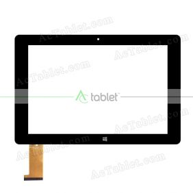 Digitizer Touch Screen Replacement for Kocaso W1010 10.1-Inch 2-In-1 Z3735F Quad Core Tablet PC