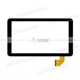 MF878-101F FPC Digitizer Glass Touch Screen Replacement for 10.1 Inch MID Tablet PC