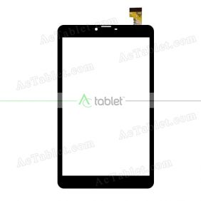 SQ-PG1037-FPC-A0 Digitizer Glass Touch Screen Replacement for 8 Inch MID Tablet PC