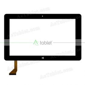 Digitizer Touch Screen Replacement for Jumper EZpad 4S Pro Quad Core 10.6 Inch Windows Tablet PC