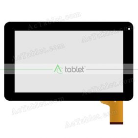 WJ1173-FPC V1.0 Digitizer Glass Touch Screen Replacement for 9 Inch MID Tablet PC